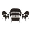 LB International 4 Piece Coffee Table Set