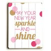 New Years Sparkle Wall Décor