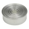 HAROLD IMPORT COMPANY Round Cookie Cutter Set