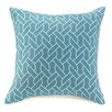 Malibu Creations Waterfront on the Ropes Throw Pillow