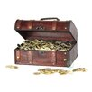 Quickway Imports Pirate Treasure Chest with 144 Coins