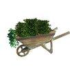 Quickway Imports Small Wheelbarrow Planter