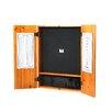 Viper Metropolitan Oak Steel-Tip Dartboard Cabinet