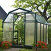 Rion Greenhouses EcoGrow 2 Twin Wall 6.5 Ft. W x 8.5 Ft. D Polycarbonate Greenhouse