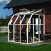 Rion Greenhouses Sunroom 2 6.5 Ft. W x 6.5 Ft. D Polycarbonate Greenhouse