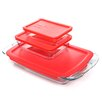 Pyrex Easy Grab 6 Piece Bakeware Set