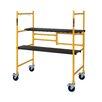Metaltech Jobsite Series 3.81' H x 41.04'' W x 22.56'' D Steel Folding Scaffolding