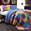 Special Edition by Lush Decor Misha 3 Piece Reversible Coverlet Set