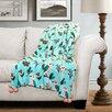 Special Edition by Lush Decor Elly Bird Flannel Throw Blanket