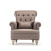 Zentique Yves Tufted Club Chair