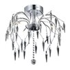 Elegant Lighting Amour 8 Light Flush Mount
