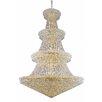 Elegant Lighting Primo 66 Light Crystal Chandelier