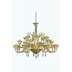 Elegant Lighting Symphony 24 Light Crystal Chandelier