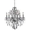Elegant Lighting St. Francis 6 Light Crystal Chandelier