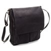 Le Donne Leather Cargo Laptop Messenger Bag