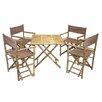 Bamboo54 5 Piece Dining Set
