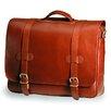 Clava Leather Bridle Executive Porthole Leather Laptop Briefcase