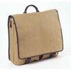 Clava Leather Canvas Messenger Bag