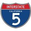 Fun Rugs Fun Time Shape Freeway 5 Sign Kids Rug