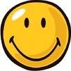 Fun Rugs Smiley World Yellow Smiley Area Rug
