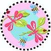 Fun Rugs Jade Reynolds Dragonfly Kids Rug