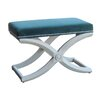Gail's Accents Emerald Upholstered Bench