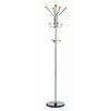 Paperflow Alco Ridge Coat Rack/Stand with 4 Double Pegs and 3 Knobs
