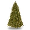 National Tree Co. 7.5' Green Scranton Fir Artificial Christmas Tree with 750 Clear Lights and Stand