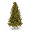 National Tree Co. Avalon 7.5' Green Spruce Artificial Christmas Tree with 500 Multi Lights and Stand