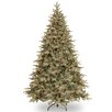 National Tree Co. 7.5' Green Spruce Artificial Christmas Tree with 750 Clear Light and Stand