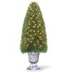 National Tree Co. Pre-Lit Upright Juniper Topiary in Urn