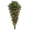 National Tree Co. Glittery Bristle Pine Pre-Lit Teardrop
