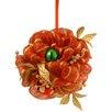 National Tree Co. Decorative Ribbon Stripe Kissing Ball