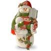 National Tree Co. Fabric Décor Snowman Christmas Decoration