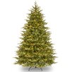 National Tree Co. Nordic 7.5' Green Spruce Artificial Christmas Tree with Clear Lights