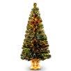 "National Tree Co. Fiber Optics Radiance Fireworks 5"" Green Artificial Christmas Tree"