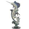 SPI Home Slam Marlin and Sailfish Statue