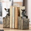 SPI Home Bibliophile Frogs on Books Book Ends (Set of 2)