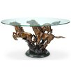 SPI Home Galloping Horse Trio Coffee Table