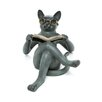 SPI Home Literary Cat Garden Statue