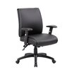 Boss Office Products Mid-Back Conference Chair with Arms