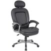 Boss Office Products High-Back Executive Chair with Padded Headrest