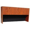 """Boss Office Products Case Goods 36"""" H x 71"""" W Desk Hutch"""
