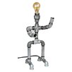 "Metrotex Designs Industrial Evolution Robot 18"" H Table Lamp"
