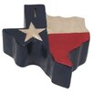 Metrotex Designs Decorative Texas Flag Piggy Bank