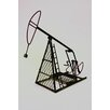 Metrotex Designs Industrial Evolution Model Pump Jack Sculpture