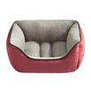 Halo Pets Reversible Rectangular Cuddler Bolster Dog Bed
