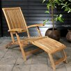 Rondeau Leisure Deluxe Steamer Folding Lounger Chair