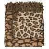 Mina Victory Leopard Print Throw Blanket