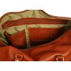 "Aston Leather 24"" Leather Carry-On Duffel with Side Pockets"